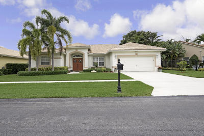 Lake Worth Single Family Home For Sale: 3909 Cypress Lake Drive