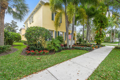 Jupiter Single Family Home For Sale: 3502 Community Drive