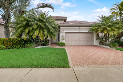 Boynton Beach Single Family Home For Sale: 7043 Southport Drive