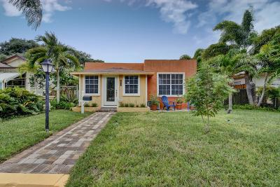 Lake Worth Single Family Home For Sale: 527 D Street