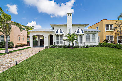 West Palm Beach Single Family Home For Sale: 321 Greymon Drive