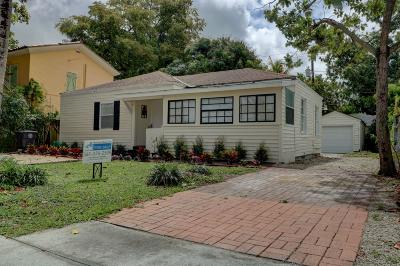 West Palm Beach Single Family Home For Sale: 930 Almeria Road