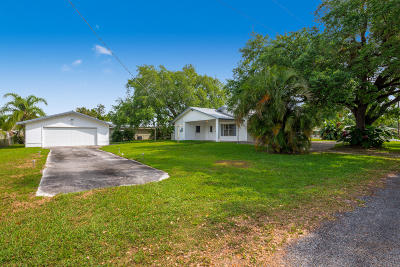 Fort Pierce Single Family Home For Sale: 384 Indiana Avenue