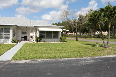 Delray Beach Single Family Home For Sale: 1072 North Drive #D