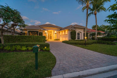 Palm Beach Gardens FL Single Family Home For Sale: $798,980