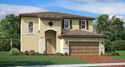Port Saint Lucie Single Family Home For Sale: 7967 NW Greenbank Circle #125