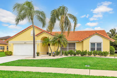 Boca Raton FL Single Family Home For Sale: $419,000