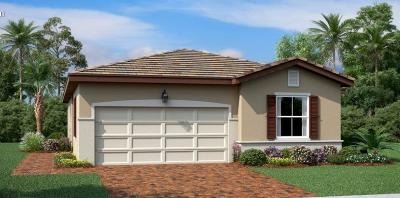 Port Saint Lucie Single Family Home For Sale: 12575 NW Toblin Lane #322