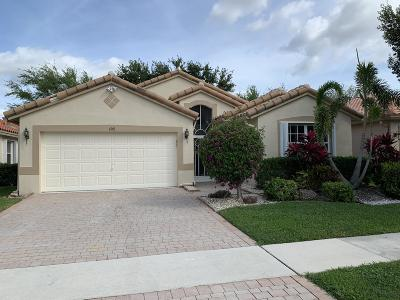 Boynton Beach Single Family Home For Sale: 6901 Castlemaine Avenue