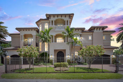 Delray Beach Single Family Home For Sale: 918 Tropic Boulevard