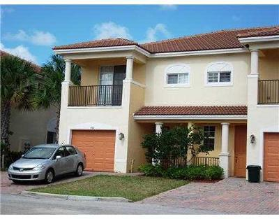 Lake Worth Townhouse For Sale: 6276 S Military Trail #401