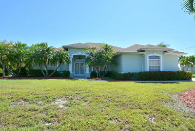Port Saint Lucie Single Family Home For Sale: 139 SW Danville Circle
