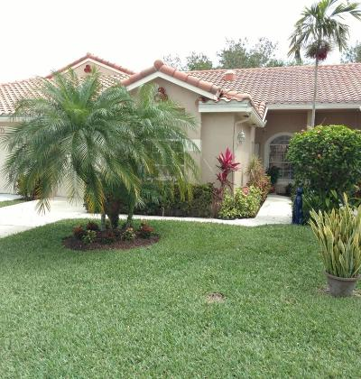 Boynton Beach Single Family Home For Sale: 6139 Long Key Lane