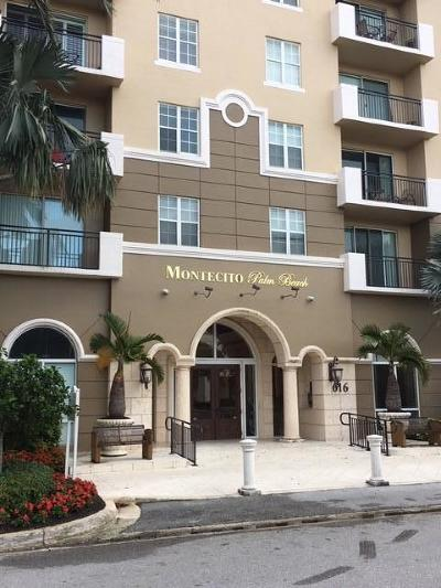 West Palm Beach Rental For Rent: 616 Clearwater Park Road #1203