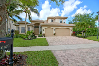 Boynton Beach Single Family Home For Sale: 11137 Brandywine Lake Way