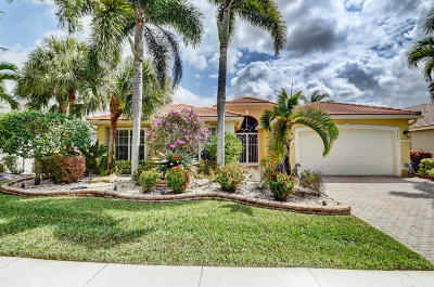 Lake Worth Single Family Home For Sale: 7772 Royale River Lane