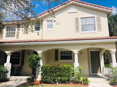 Delray Beach Townhouse For Sale: 4805 Wickham Circle #A