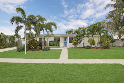 North Palm Beach Single Family Home For Sale: 520 Flotilla Road