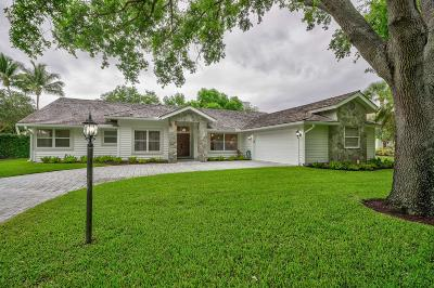 Tequesta Single Family Home For Sale: 18274 SE Ridgeview Drive