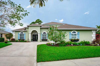 Jensen Beach Single Family Home For Sale: 2770 NW Windemere Drive