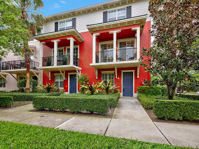 Jupiter Townhouse For Sale: 190 Quarry Knoll Way
