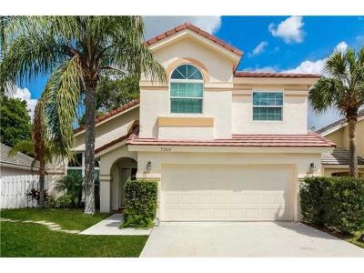 Lake Worth, Lakeworth Rental For Rent: 7369 Trescott Drive