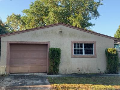 Jupiter Single Family Home For Sale: 6784 Church Street