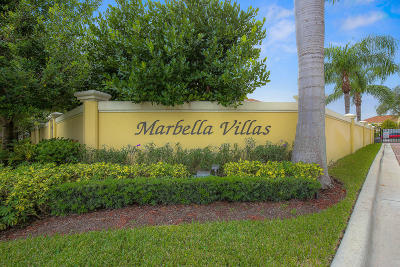 North Palm Beach Townhouse For Sale: 472 Marbella Drive