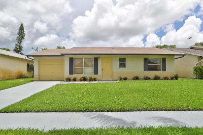 Lake Worth Single Family Home For Sale: 6259 Hanna Lane