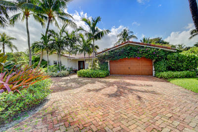 Single Family Home For Sale: 1801 Banyan Road