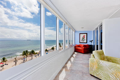 Fort Lauderdale Condo For Sale: 345 Fort Lauderdale Beach Boulevard #603