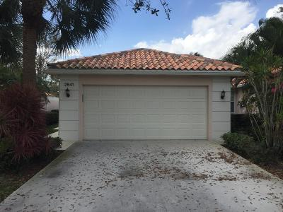West Palm Beach Single Family Home For Sale: 2841 Livingston Lane