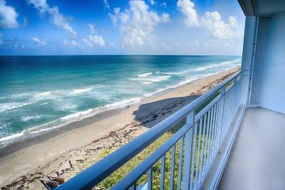 Jensen Beach Condo For Sale: 9600 S Ocean Drive #908