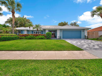 Jupiter Single Family Home For Sale: 125 Pegasus Drive