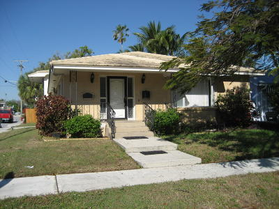 Lake Worth Single Family Home For Sale: 731 S Palmway