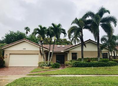 Boca Raton Single Family Home For Sale: 21114 Escondido Way