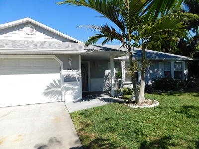 Fort Pierce Single Family Home For Sale: 5405 Paleo Pines Circle