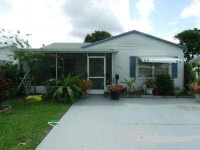 Tamarac FL Single Family Home For Sale: $194,000