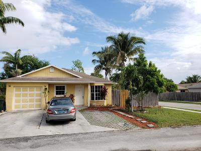Boynton Beach Single Family Home For Sale: 10071 Boynton Place Circle