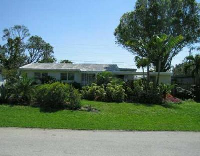 Wilton Manors Single Family Home For Sale: 416 NE 27th Drive