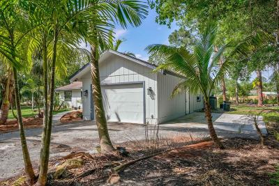 Jupiter Single Family Home For Sale: 16801 Mellen Lane