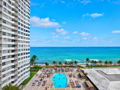 Broward County Condo For Sale: 1950 S Ocean Drive #21e
