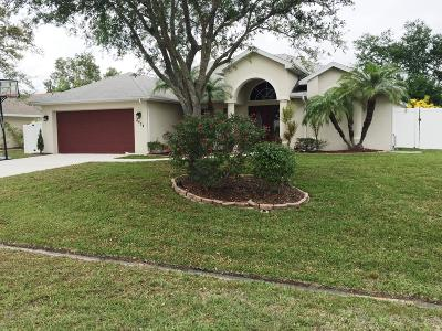 Port Saint Lucie Single Family Home For Sale: 4474 NW North Macedo Boulevard