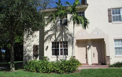 Delray Beach Townhouse For Sale: 111 Stone Harbor Way #A1
