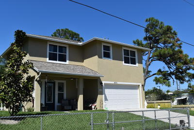Lake Worth Single Family Home For Sale: 4573 Meadow Green Trail