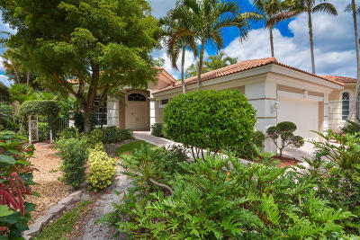 Delray Beach Rental For Rent: 15881 Double Eagle Trail