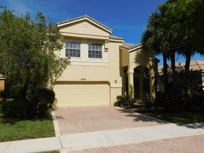 Royal Palm Beach Single Family Home For Sale: 2063 Reston Circle