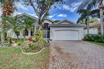 Boynton Beach Single Family Home For Sale: 11048 Manele Court