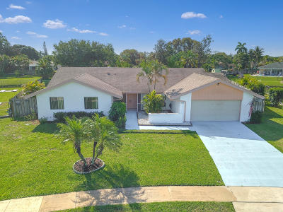 Wellington Single Family Home For Sale: 11480 Sanderling Drive