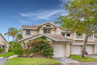 Deerfield Beach Townhouse For Sale: 2075 Discovery Circle E